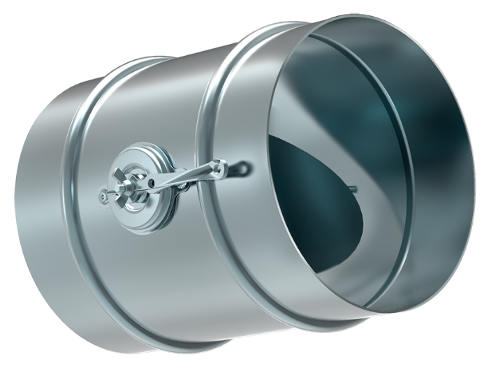 Дроссель-клапан круглый