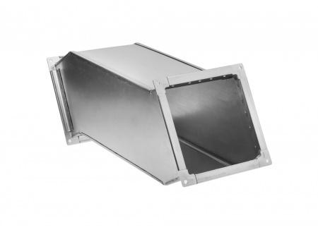 Отвод со смещением прямоугольный (утка)